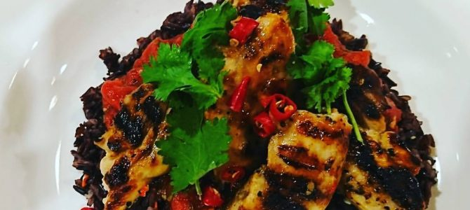 Black Rice Lime Chilli Chicken